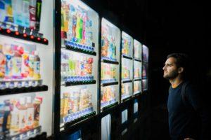 Överväldigande konsumentval i mörker